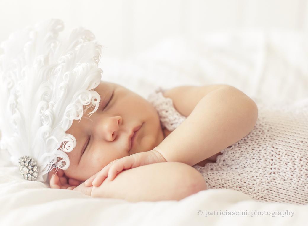 Patricia Semir Tocados para bebs