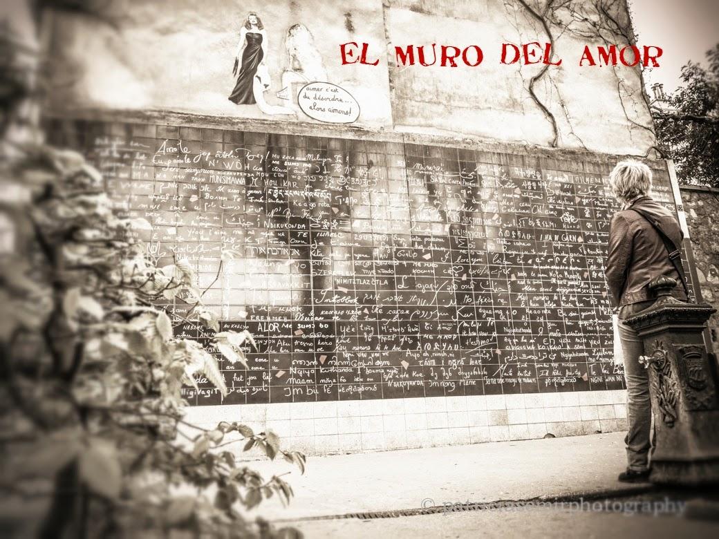 El muro del amor !!